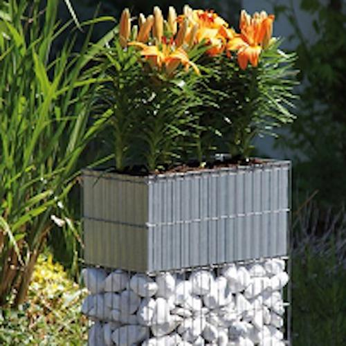 Vielseitige Gestaltung mit dekorativen Gabionen