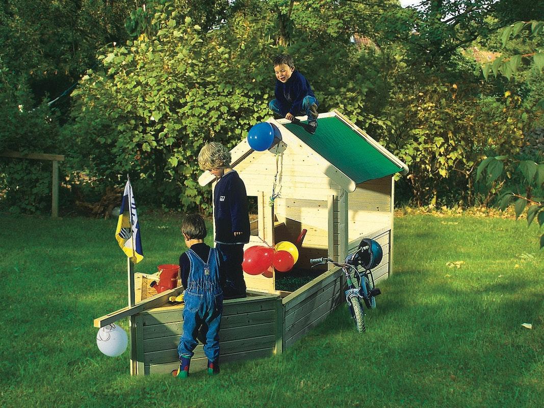 Akubi Kinderspielgerät Kinderspielhaus Piratenschiff Jack