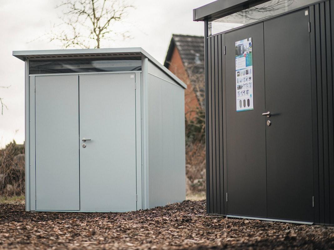Die Firma Biohort aus Österreich fertigt erstklassige Garten- und Gerätehäuser aus Metall!