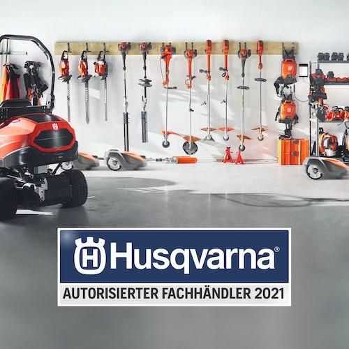 Wir sind autorisierter Husqvarna Fachhändler 2021