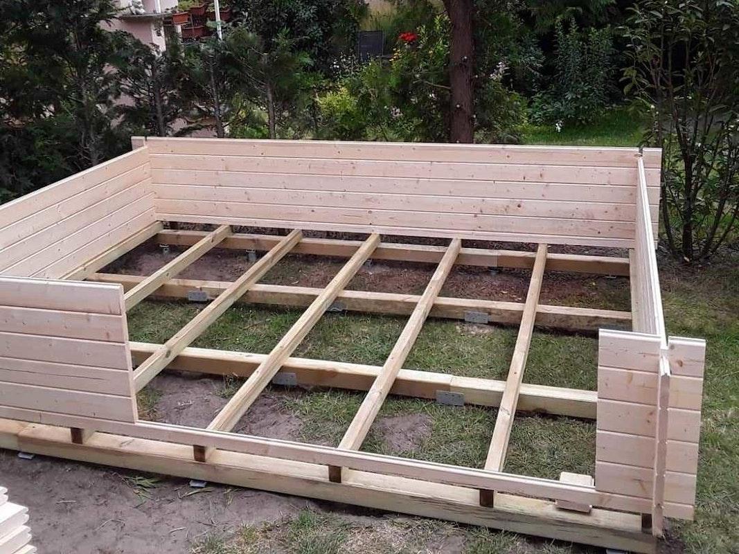 Schritt 4: Aufbau der Seitenwände