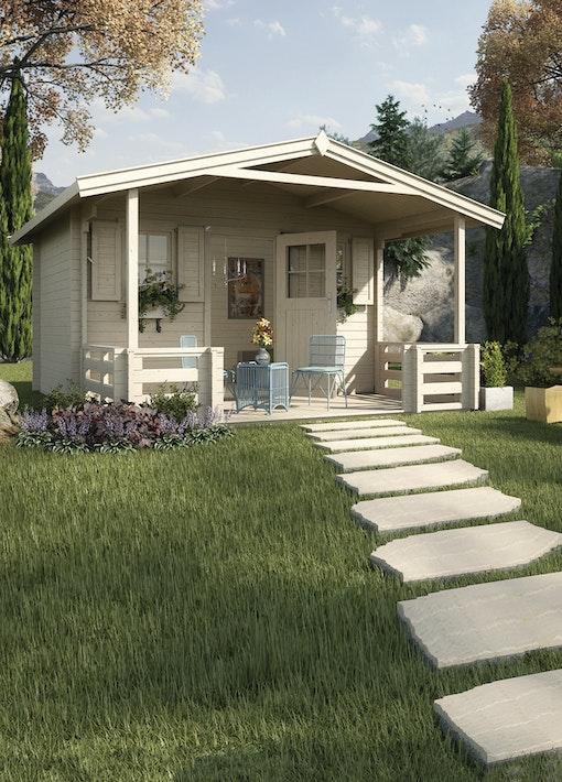 Selbstklebende Dachfolie für Weka Gartenhäuser