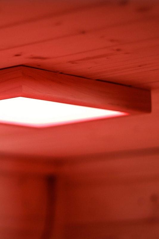 LED Farblicht für die Heimsauna