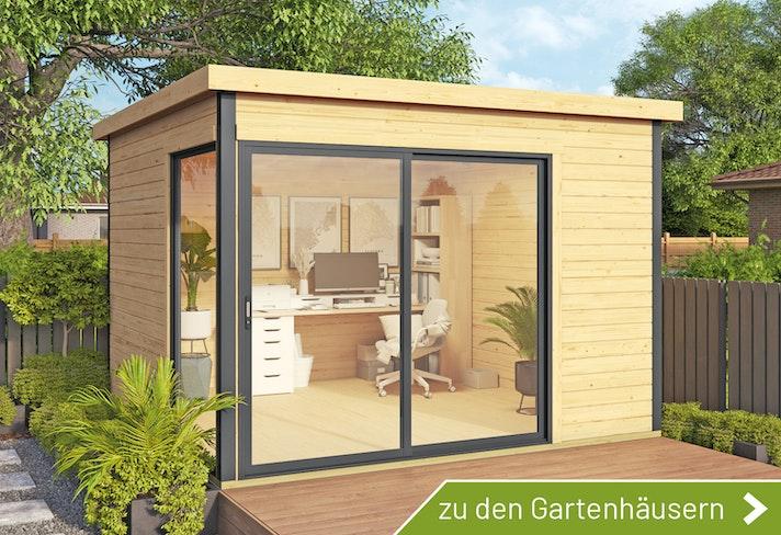 Gartenhaus als Homeoffice