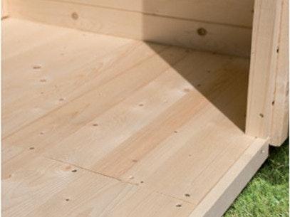 Fußboden für Gartenhaus