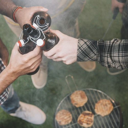 Rauchfrei Grillen mit einem Holzkohlegrill?