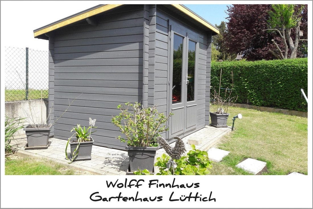 Wolff Finnhaus Gartenhaus Lüttich