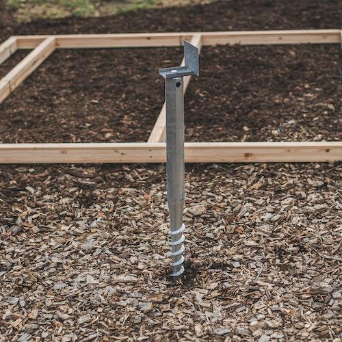Fundamentarten für Gartenhäuser