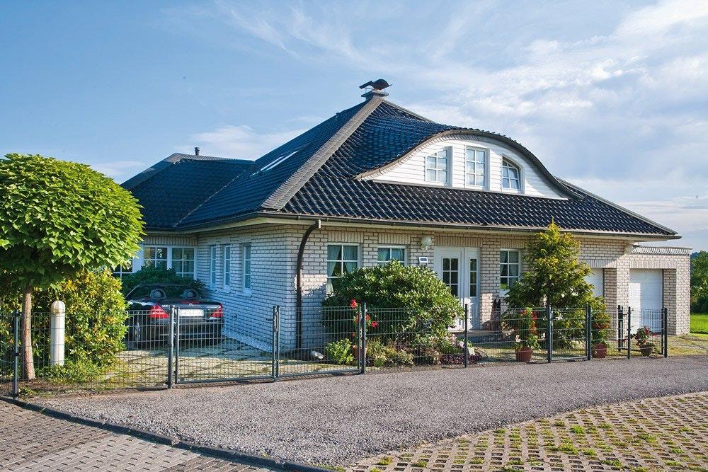 Top Doppelstab-Gittermatten Zaun: Schlicht, elegant und stabil | Mein &RP_42