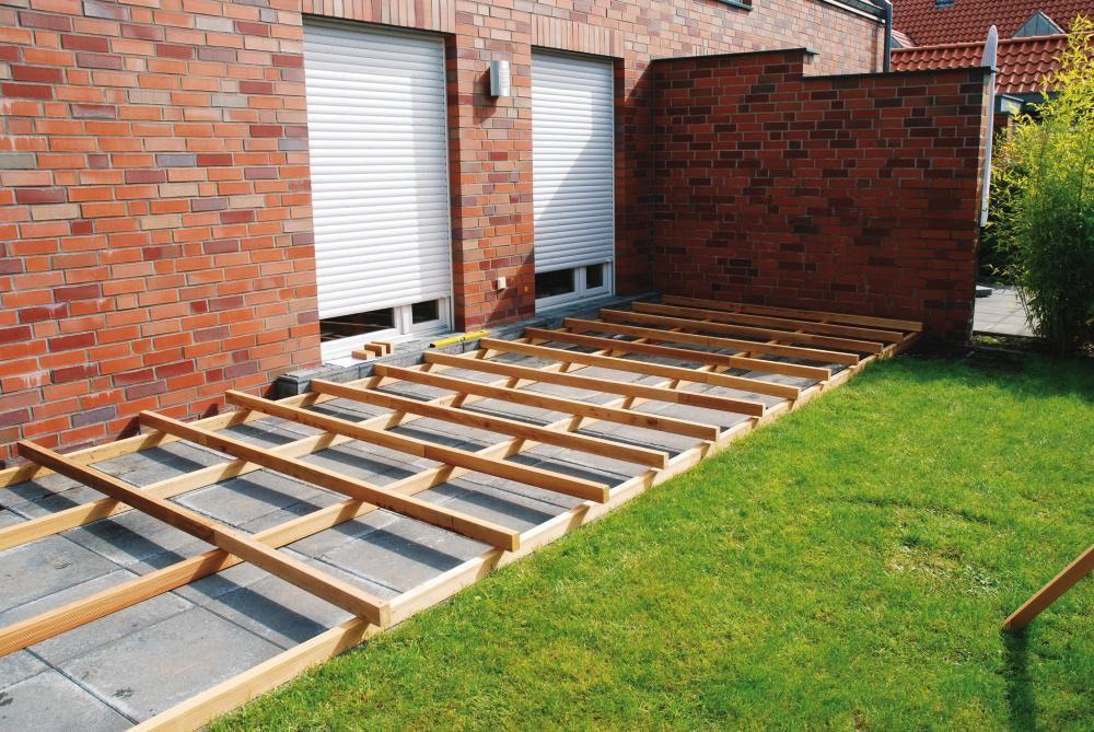 Sehr Montage einer Terrasse ohne Unterkonstruktion | Mein-Wohndesign24.de IT71