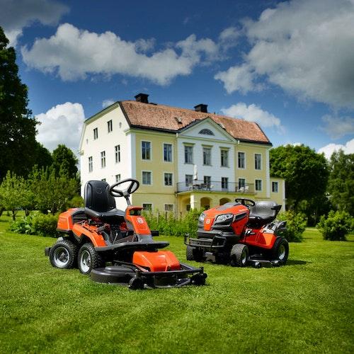 Gartentraktor oder Rider: Wer kann was?