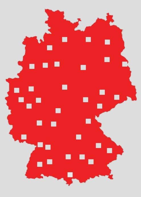 Standorte Logistik-Zentren