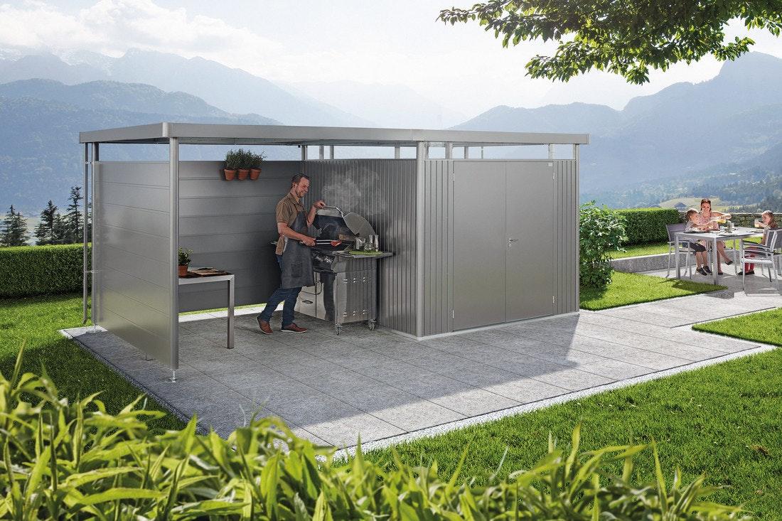 Biohort Seitenwand für Seitendach zu Gerätehaus HighLine