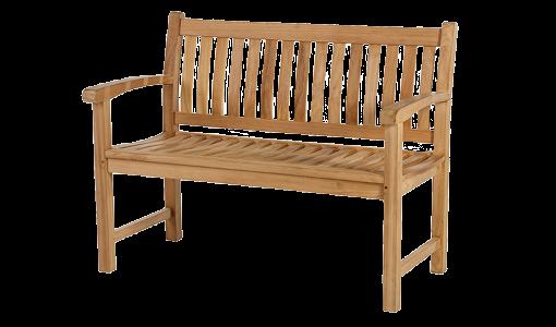 Die Gartenbank aus Holz ist ein absoluter Klassiker und ein Must Have in jedem Garten
