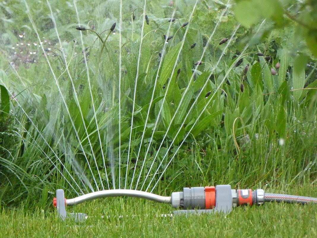 Garten-Regner zur Bewässerung