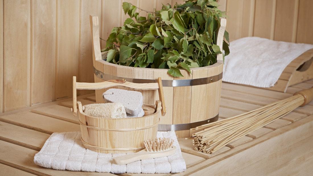 Sauna Einrichtung