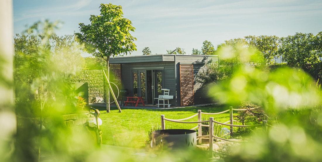 Leben im Grünen, dank eines schönen Gartenhauses ist es möglich!