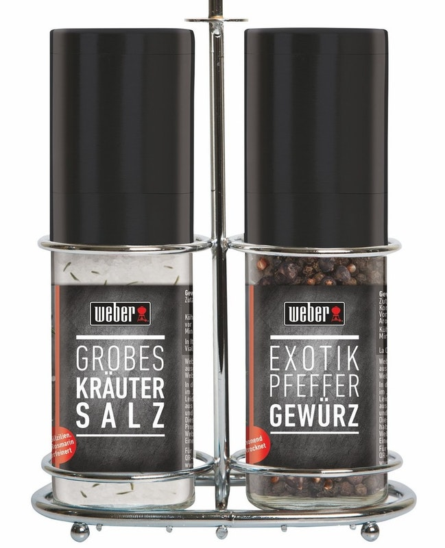 Weber Rack Gewürz-Salz & Pfeffer-Mix (08052)