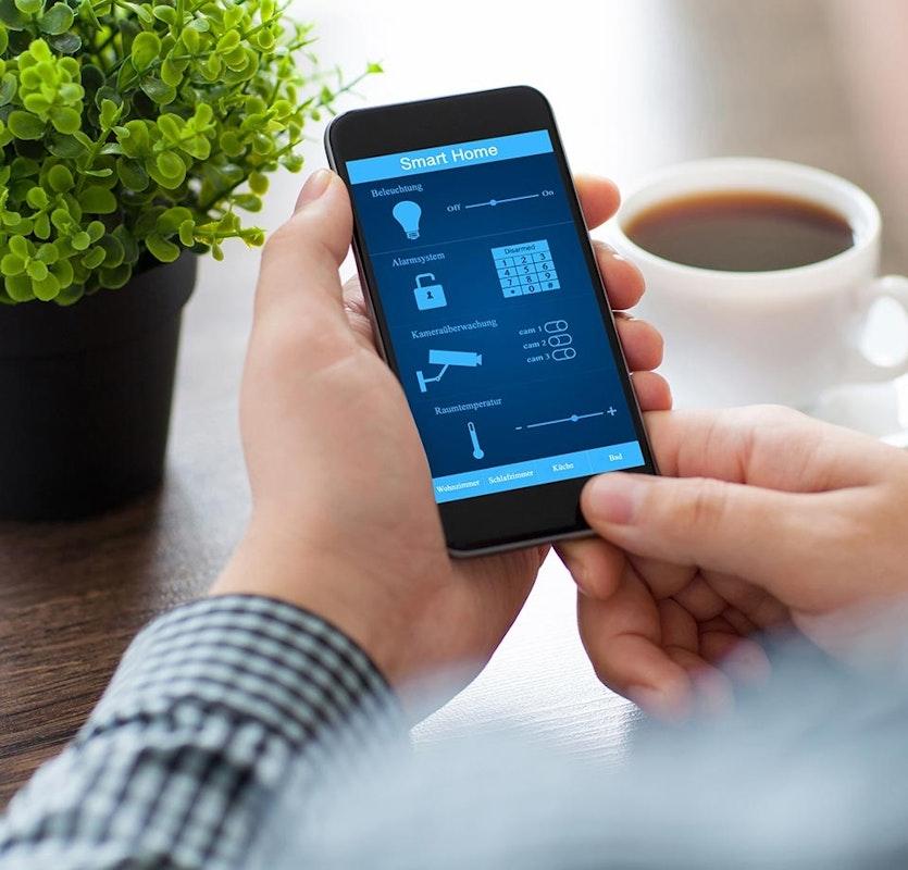 Maximale Sicherheit für Ihr Zuhause mit einem Smartphone