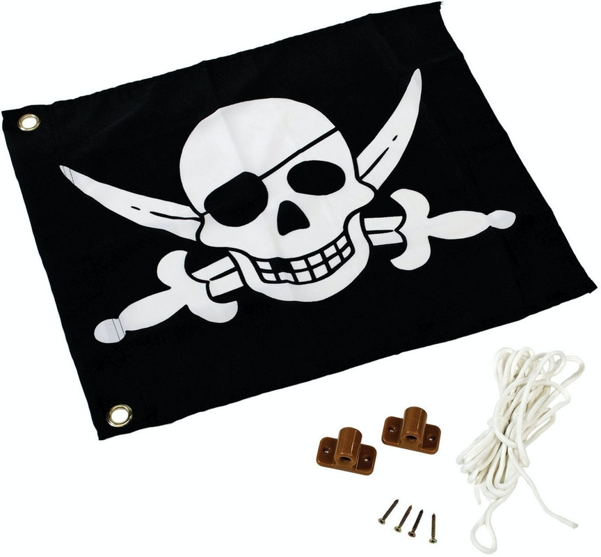 Karibu Piraten-Fahne