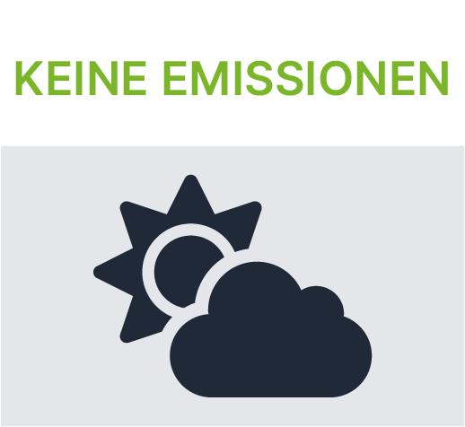 Akkus pusten keine Emissionen in die Umwelt