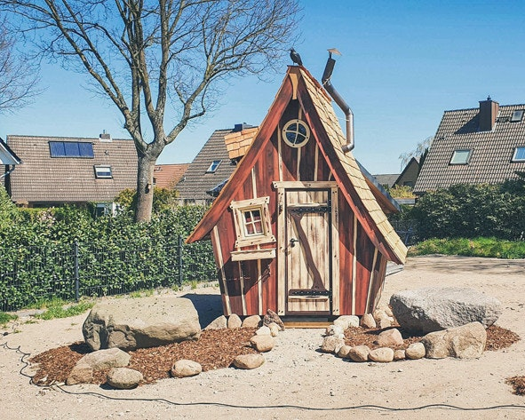 Das etwas andere Gartenhaus, nicht nur für Hexen