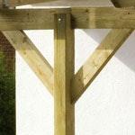 Terrassenüberdachungen Holz Nadelholz