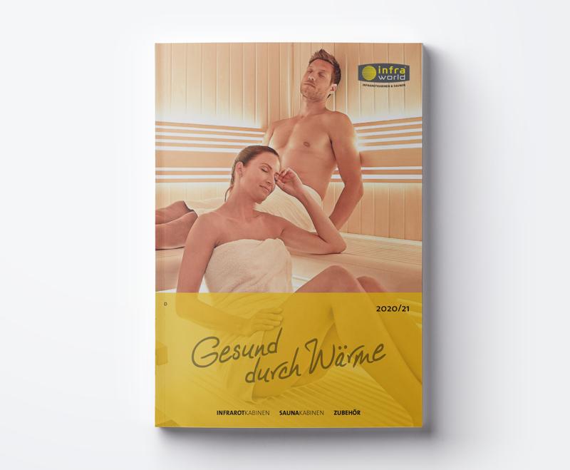 """Katalog Infraworld """"Gesund durch Wärme"""" 2020/21"""