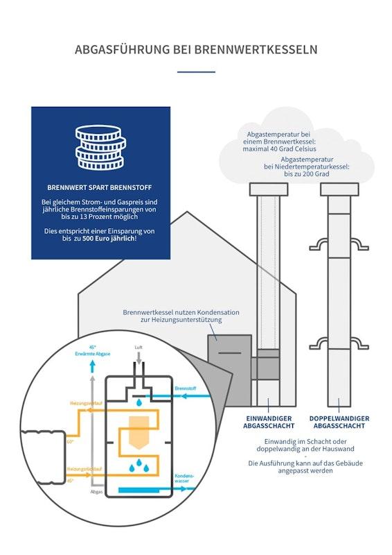 Infografik Abgasführung