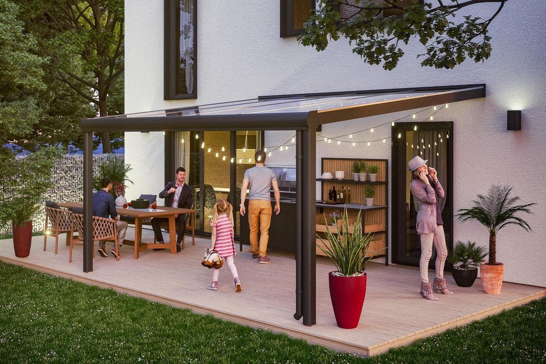 Aluminium Terrassenüberdachung von Skan Holz