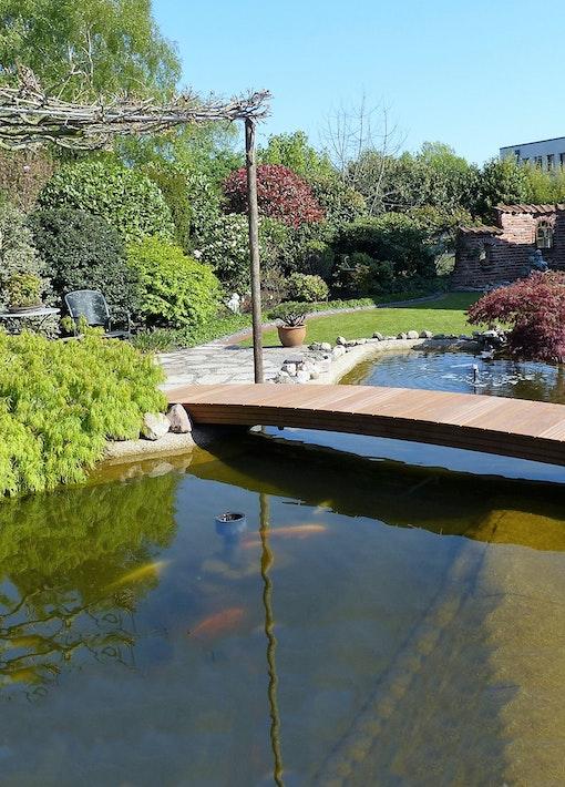 Wow: sehr schön gelöste Teichneugestaltung!