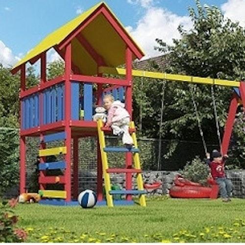 Kinderspielgeräte für den Garten