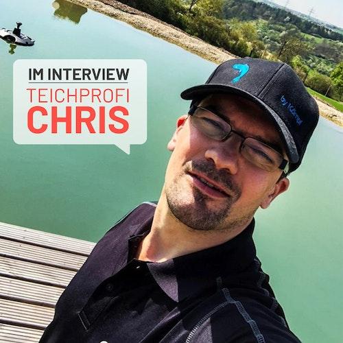 Unser Teichexperte im Interview
