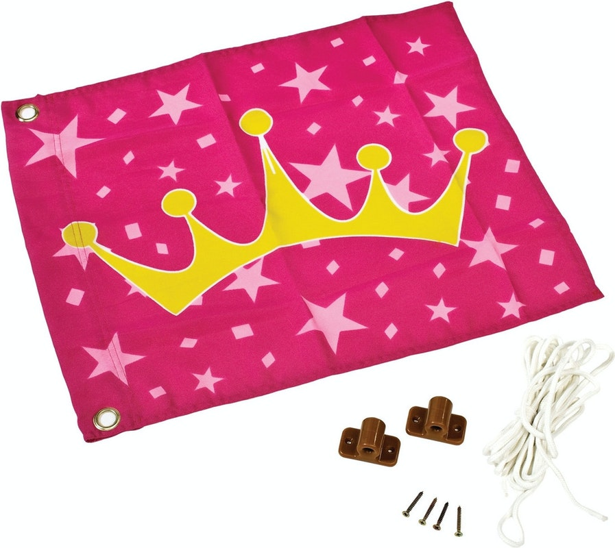 Prinzessinnen-Fahne von Karibu