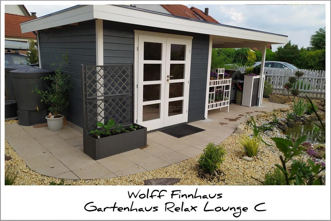 Wolff Finnhaus Relax Lounge C Gartenhaus