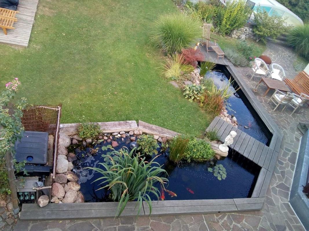 Teich selbst bauen - Teichbauanleitung für Jedermann | Oase-Teichbau.de