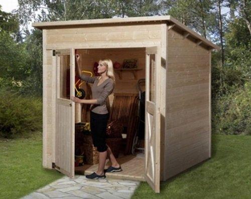 Gartenhaus Fußboden Streichen ~ Gartenhaus barbados mini mit fußboden cm natur bei