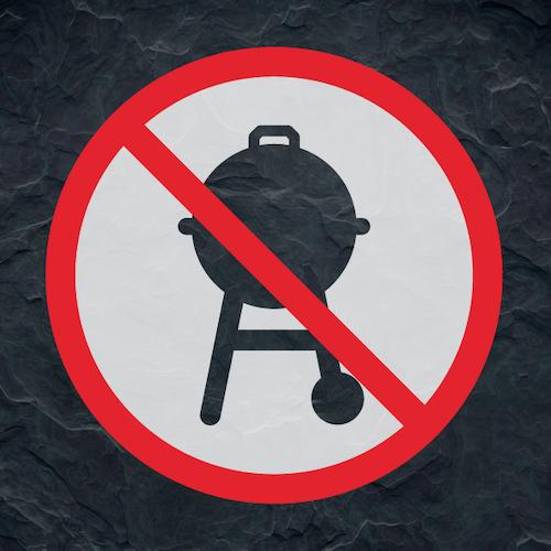 Grillen verboten?
