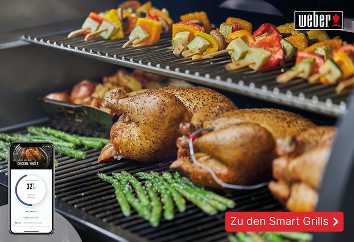 Die Weber Smart Grills