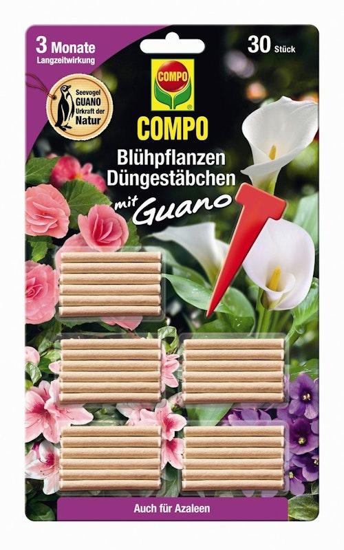 COMPO Blühpflanzen Düngerstäbchen mit GUANO