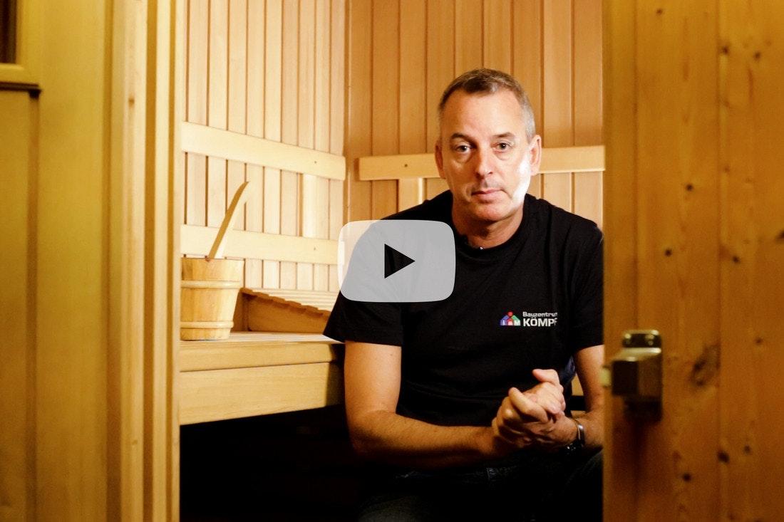 Das Sauna FAQ mit unserem Montageleiter Jens Schütt