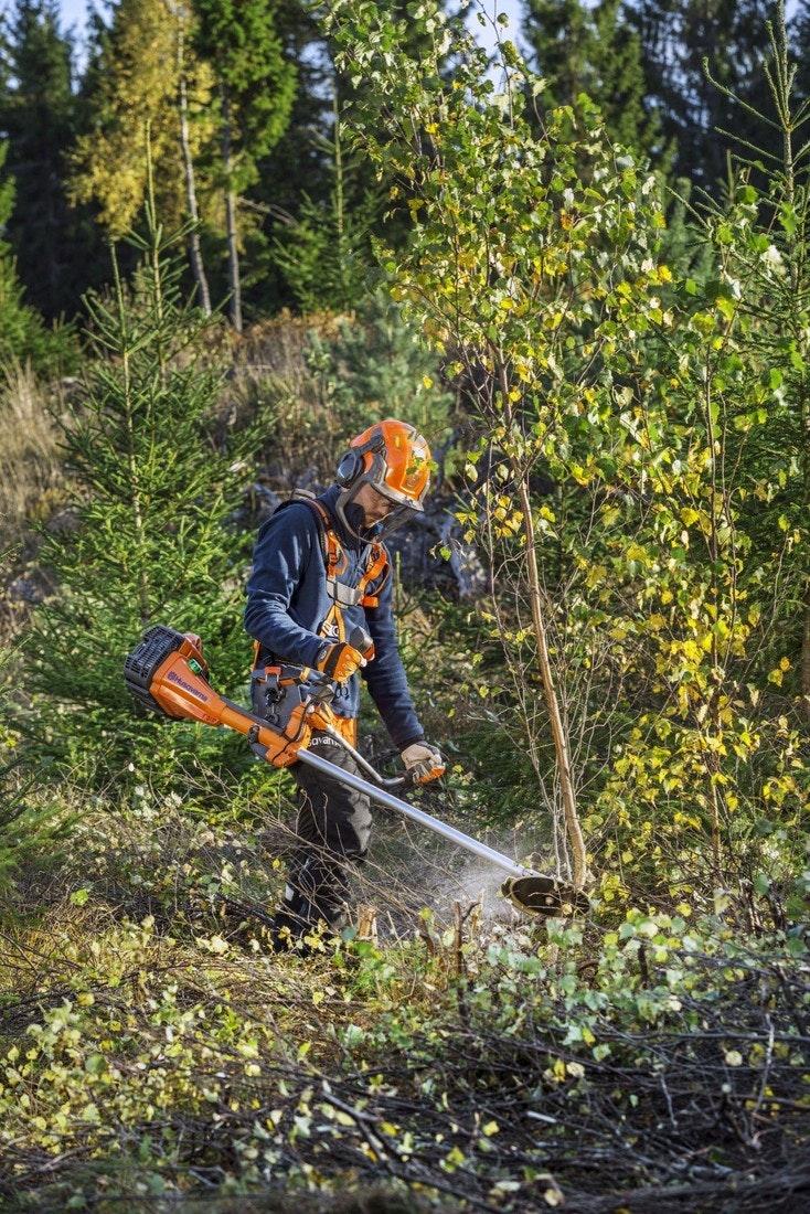 Husqvarna 545FX: kraftvolle Reserven für den Frost