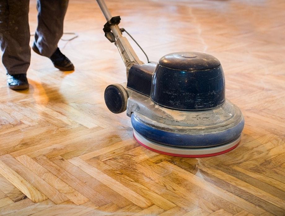 Beliebt Holzboden renovieren mit Osmo Schleifpads und Farben | Mein VN77