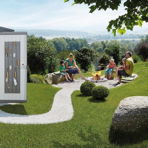 Stauraumlösungen für den Garten: Biohort