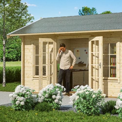Im Trend: Gartenhäuser als Home Office nutzen!