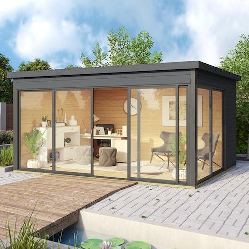 Gartenhaus aus Holz – Oase zum Entspannen!