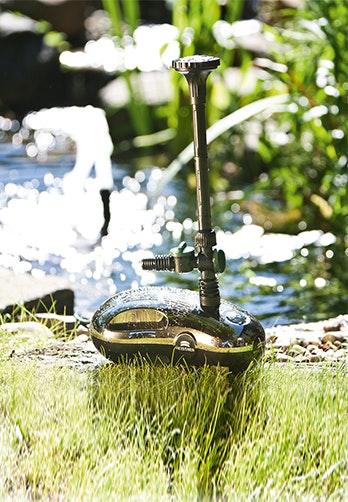 Hier finden Sie die richtige Pumpe für Ihren Teich