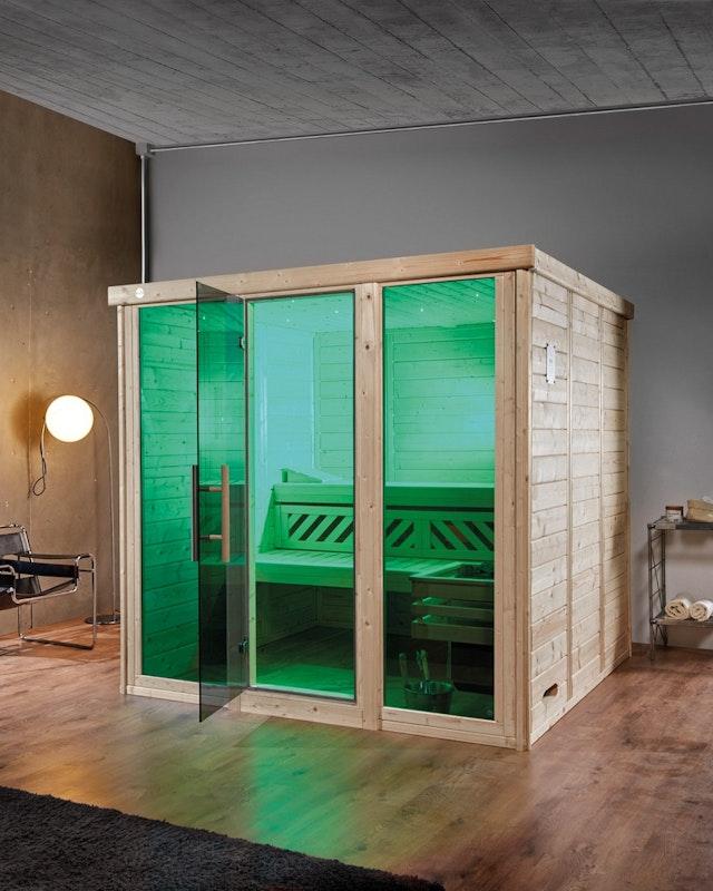 Weka Farblicht-Set  Beispiel Grün