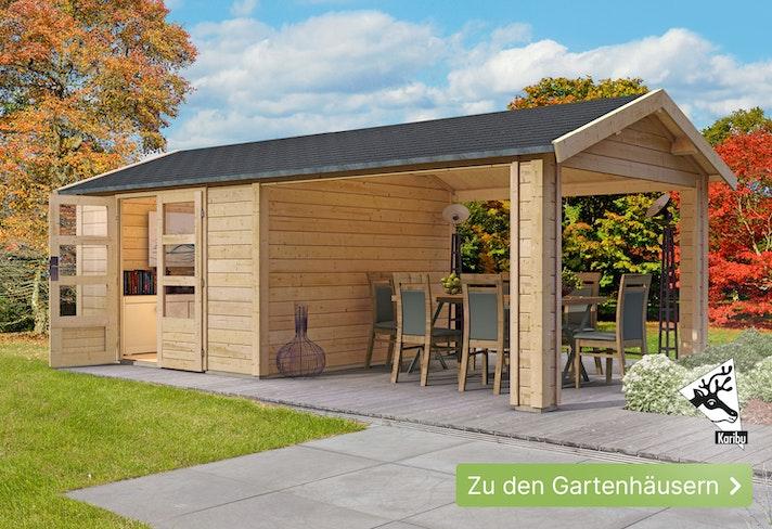 Finden Sie Ihr Gartenhaus!