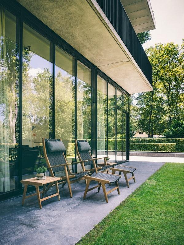 Entspannung pur: mit den Gartenmöbeln von Apple Bee können Sie sich bequem zurücklehnen